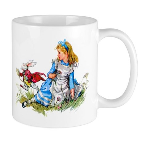ALICE & THE RABBIT Mug