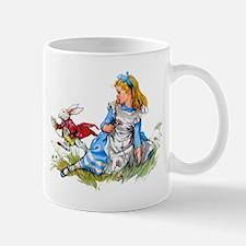 ALICE & THE RABBIT Small Mugs