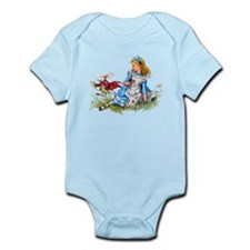 ALICE & THE RABBIT Infant Bodysuit