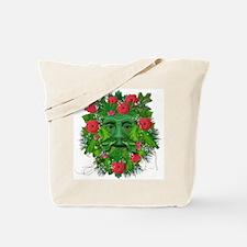 Greenman w/ Roses Tote Bag