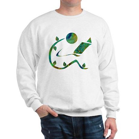 Green Reader Sweatshirt
