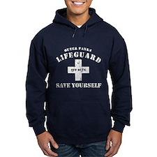 Outer Banks Lifeguard Off Duty Save Yourself Hoodi