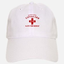 Outer Banks Lifeguard Off Duty Save Yourself Baseball Baseball Cap