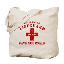Outer Banks Lifeguard Off Duty Save Yourself Tote