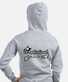 Team Wonderland: Mad Hatter Zipped Hoody