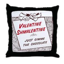 Valentine Shmalentine Throw Pillow