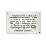 Bible Disclaimer Rectangle Magnet