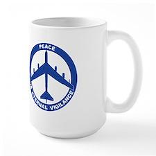 B-52G Peace Sign Mug