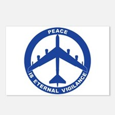 B-52H Peace Sign Postcards (Package of 8)