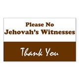 No jehovah witness Single