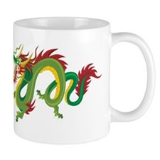 Angry Dragon Small Mug