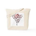 Fire Breathing Tattoo Dragon Tote Bag