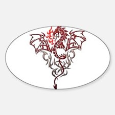 Fire Breathing Tattoo Dragon Decal