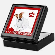 I Heart My JRT Keepsake Box