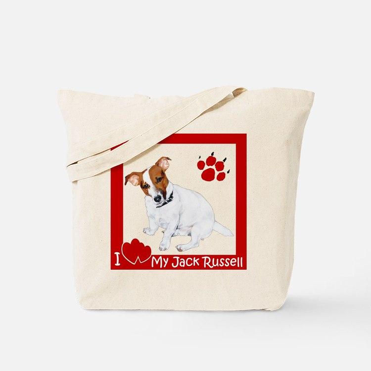I Heart My JRT Tote Bag