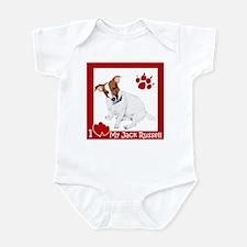 I Heart My JRT Infant Bodysuit