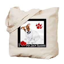 I Heart My JRT Tote Bag