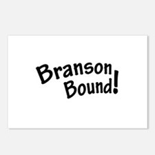 Branson Bound! Postcards (Package of 8)