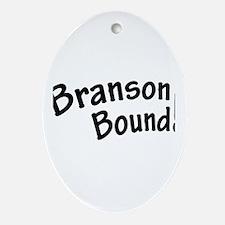 Branson Bound! Ornament (Oval)