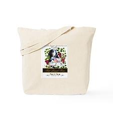 Flat Basset Tote Bag
