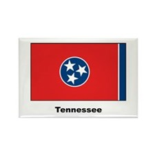 Tennesee State Flag Rectangle Magnet