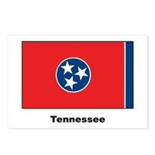 Tennesee State Flag Postcards (Package of 8)