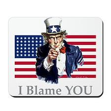 Uncle Blame Mousepad