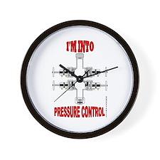 I'm Into Pressure Control Wall Clock,Wireline