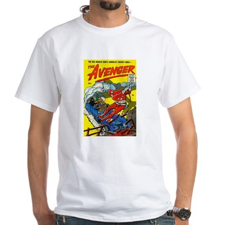 $19.99 Classic The Avenger White T-Shirt