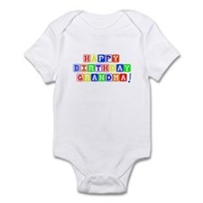 Happy Birthday Grandma Infant Bodysuit