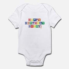 Happy Birthday Mommy! Infant Bodysuit