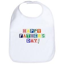 Happy Father's Day Bib