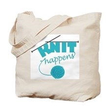 """Knit Happens"" Tote Bag"