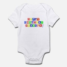 Happy Birthday Grandpa Infant Bodysuit