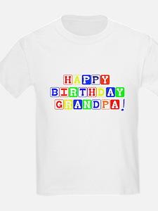 Happy Birthday Grandpa T-Shirt