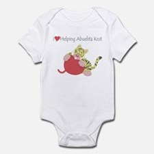 I Love Helping Abuelita Knit Infant Bodysuit
