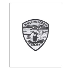 Palos Verdes Estates Police Posters
