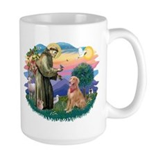 St Francis #2/ Golden Ret (B4) Mug