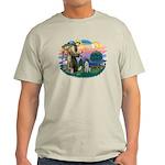 St. Fran #2/ German SH Pointer Light T-Shirt