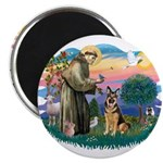 St. Fran #2/ German Shepherd (w) 2.25