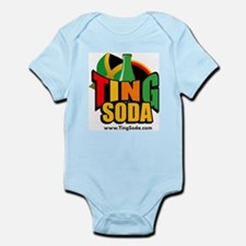 TING SODA Logo Body Suit