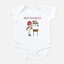 Abuelita's Helper in Kitchen Infant Bodysuit