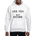 Like You But Richer Hooded Sweatshirt