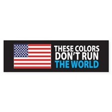 These Colors Bumper Bumper Sticker