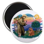 St Francis #2/ Chow (R) Magnet