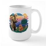 St Francis #2/ Chow (R) Large Mug