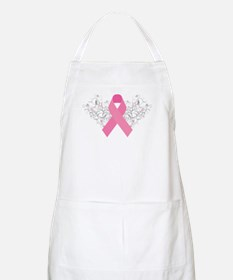 Pink Ribbon Design 3 Apron