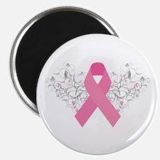 Pink Ribbon Design 3 Magnet