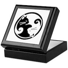 Tao of Meow: Ying Yang Cats Keepsake Box