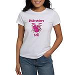 Little Sisters Roll! Drum Women's T-Shirt
